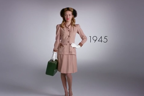 100 Years of Beauty in 1 Minute: Brazil
