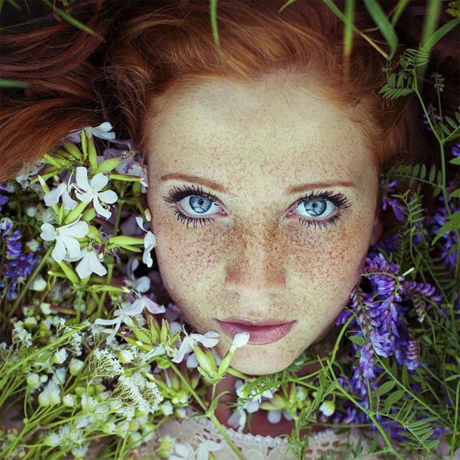 Stunning Redhead Portraits by Maja Topcagic: Capture the Spirit of Summer