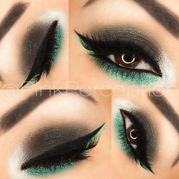 To acquire Makeup eye Black looks pictures trends