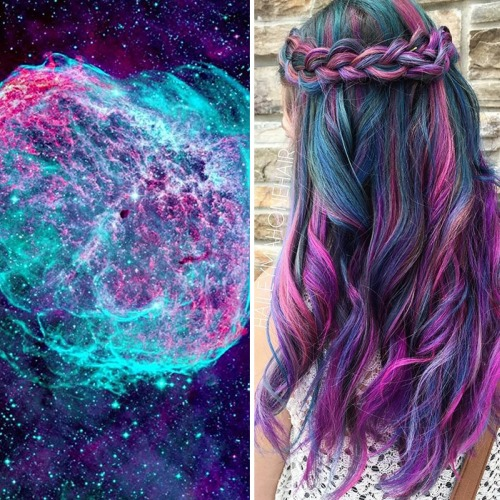 This Galaxy Hair Trend is Actually Quite Mesmerizing