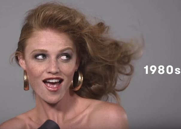 100 Years of Beauty in 1 Minute: Brazil