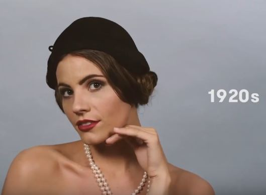 100 Years of Beauty in 1 Minute: Italy