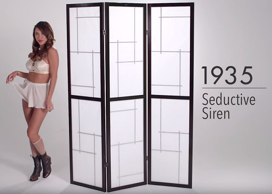 Video: 100 Years of Lingerie Fashion in 3 Minutes