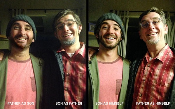 Dad And Son Dress As Each Other In The Most Confusing Halloween Costumes Ever