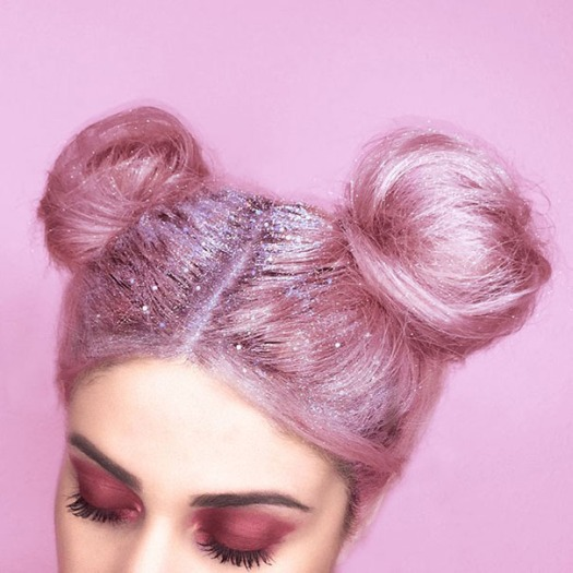 Glitter Roots Are Apparently A Thing Now, Taking The Internet By Storm