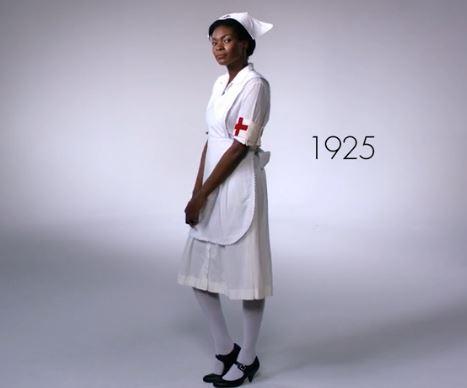 100 Years of Womens Work Styles