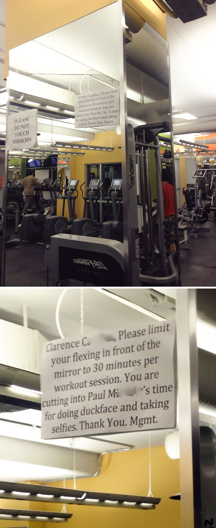 Joined A Gym, And Was Teased By My Fit Friends Who Workout There. Got My Revenge