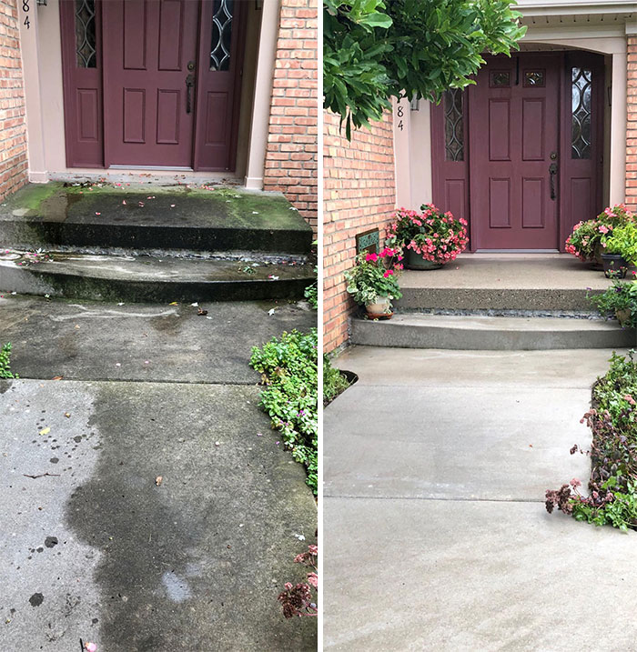 16 Years Of Neglect vs. 3200 PSI Pressure Wash