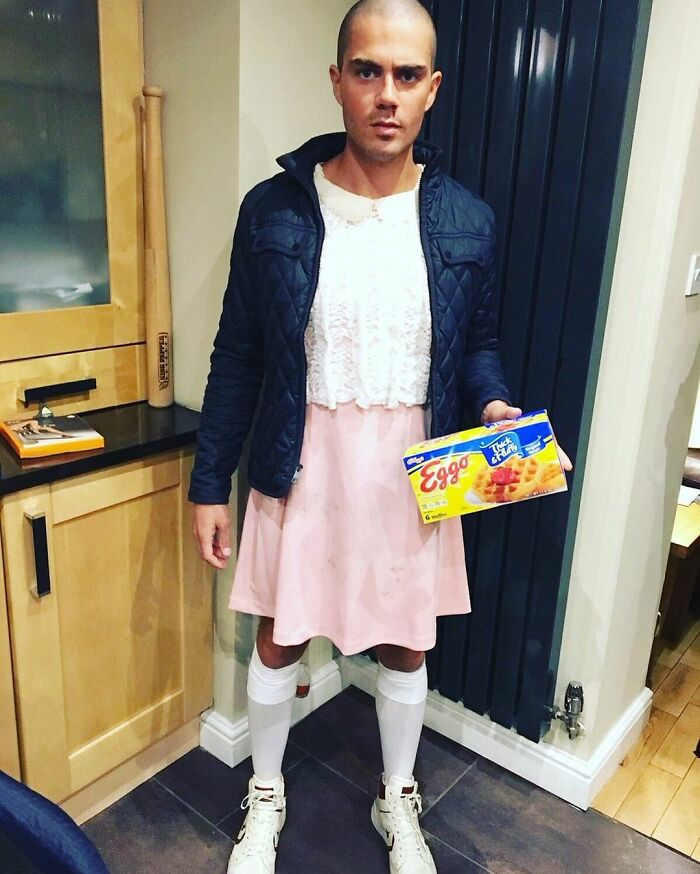 Max George As Eleven From Stranger Things