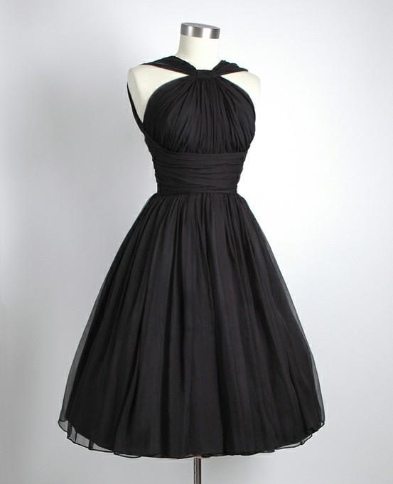 Black Chiffon Party Dress (cool gallery)
