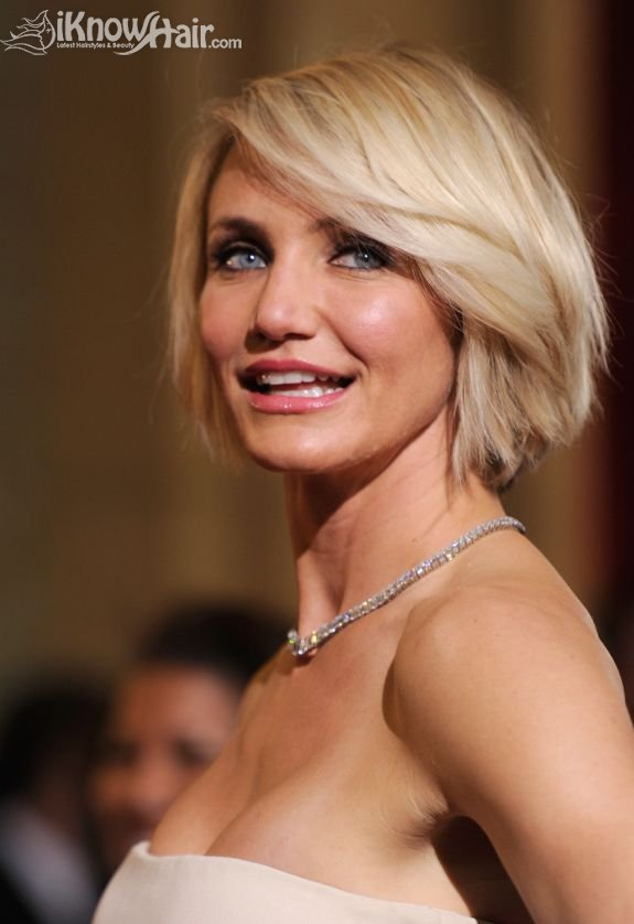 Cameron Diaz`s New Short Haircut