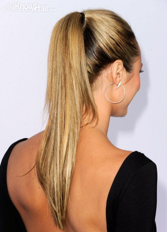 "Celebrity Ponytail Hairstyles - Spike TV's ""2011 Video Game Awards"" - Arrivals"