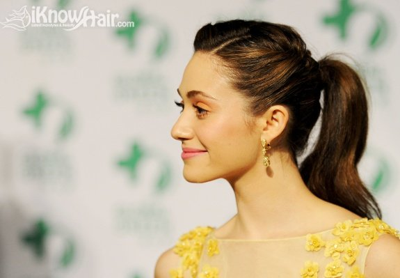 Celebrity Ponytail Hairstyles - Global Green USA's 9th Annual Pre-Oscar Party Supporting Green Schools and Green Communities - Red Carpet
