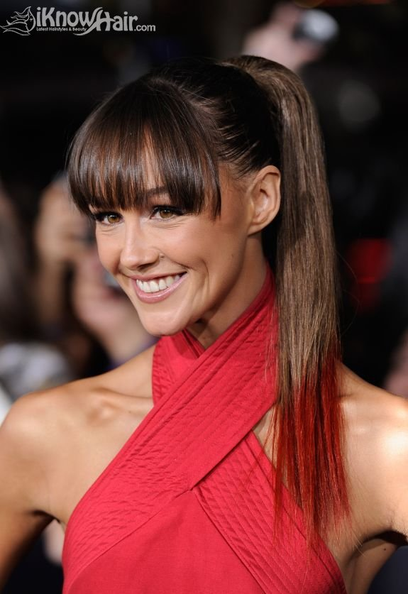 Shoulder lenght celebrity hairstyles