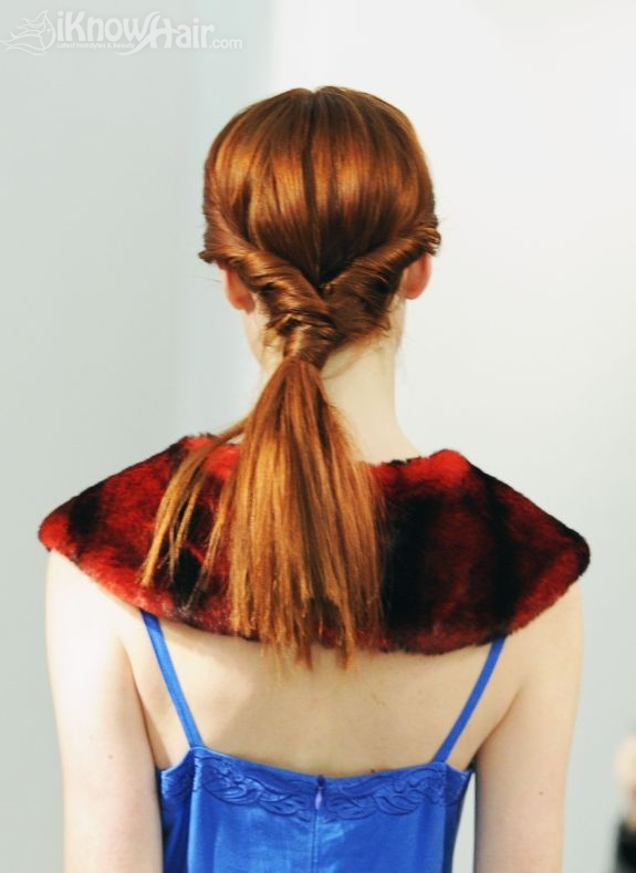 Hair Trends Ponytail