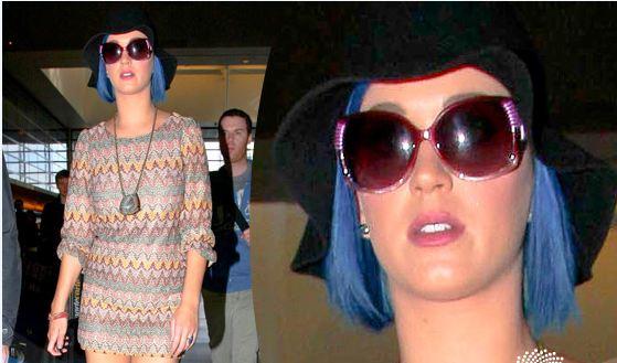 Katy Perry Latest Hair Color