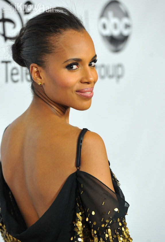 Kerry Washington Hairstyles Long Hair Vanity Fair Dress