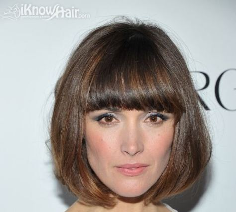 Bangs and Fringes (gallery: names of hairstyles)