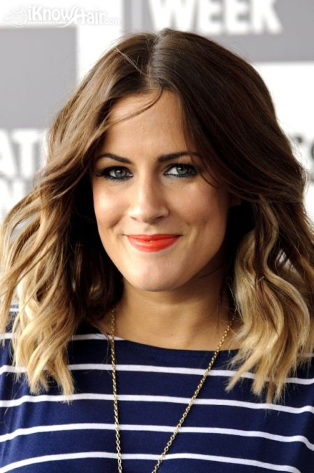 caroline flacks hair hair extensions blog hair tutorials hair ombre hair trend dark roots light ends ombre hairstyles
