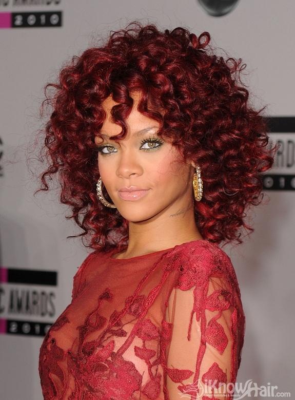 Rihanna | Rihanna Red Hair | Rihanna Short Hair Styles