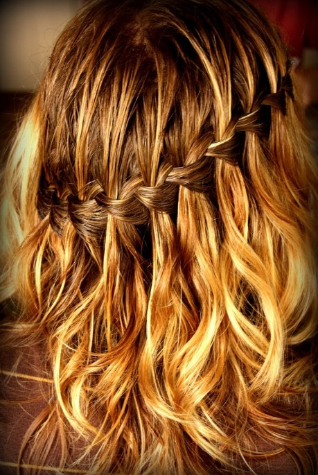 Waterfall Braid Tutorials Waterfall Braid How How To