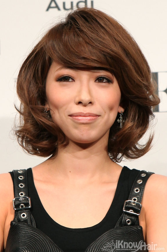 Short And Medium Hair Styles For Asian Women | Medium ...