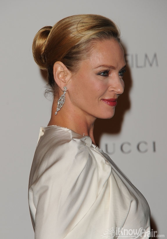 Uma Thurman Hairstyles 2011 Uma Thurman Hair And Haircuts