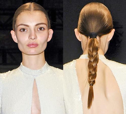 2011 hair trends catwalk hair 2012