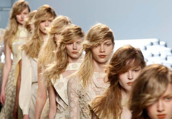 catwalk hair 2011 - 2012