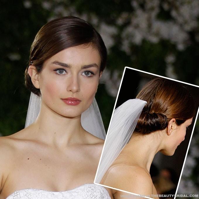 easy updo hairstyle wedding