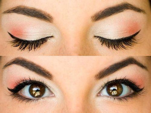 5 - Orange Delight Eye Makeup